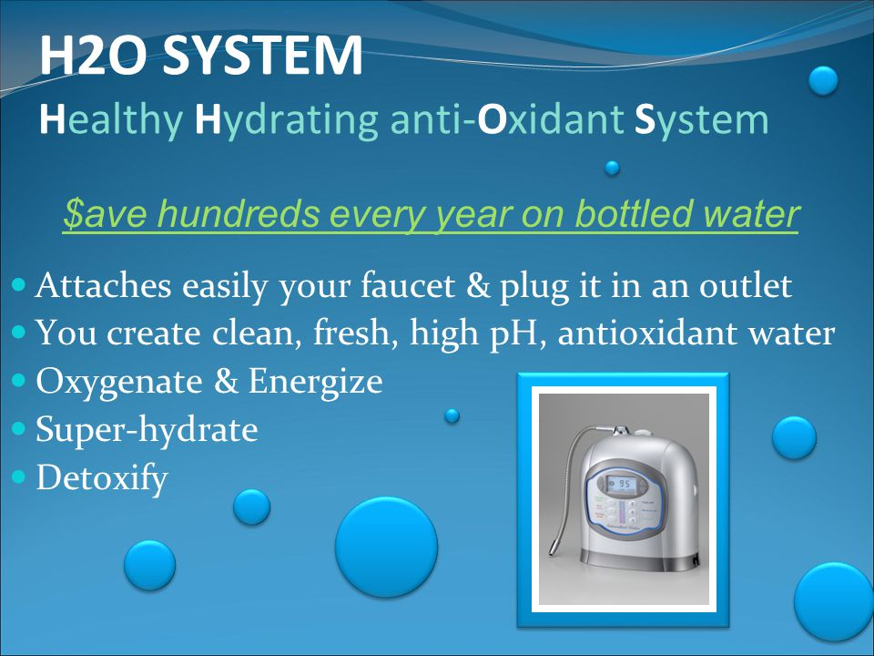 The Creation of Ionized Water Regular tap water first goes through a multi-stage filtration process.
