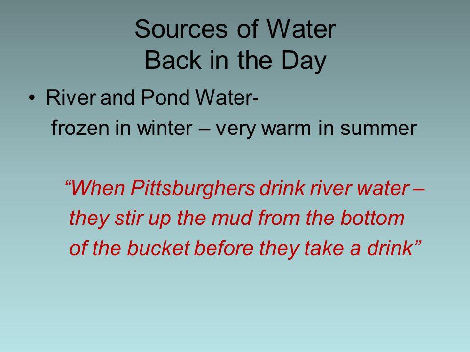 CHOLERA EPIDEMICS Cholera Epidemics kept Pittsburgh in fear.