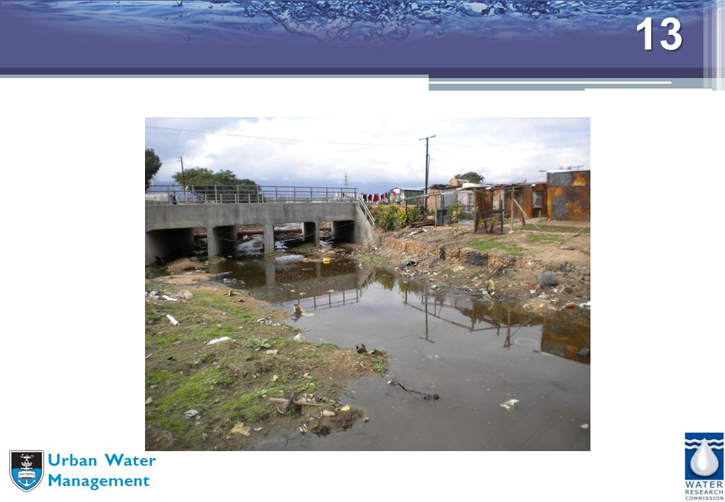 13 Urban Water Management