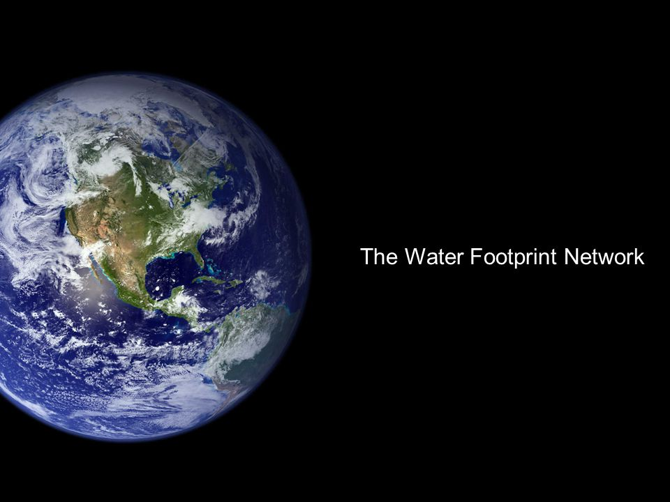 The Water Footprint Network