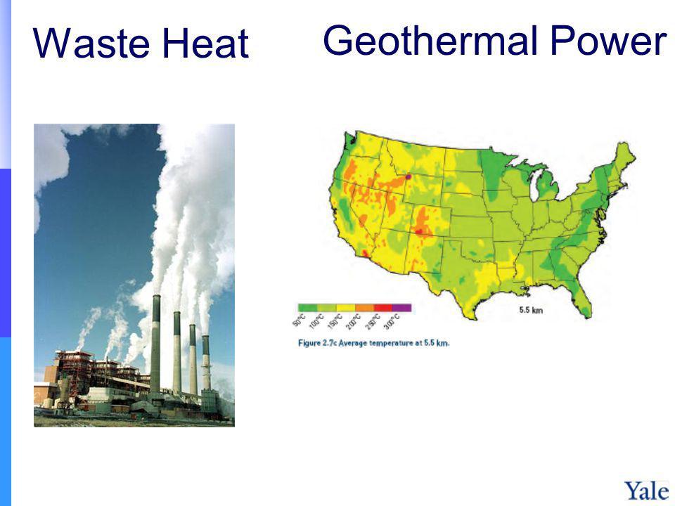 Waste Heat Geothermal Power