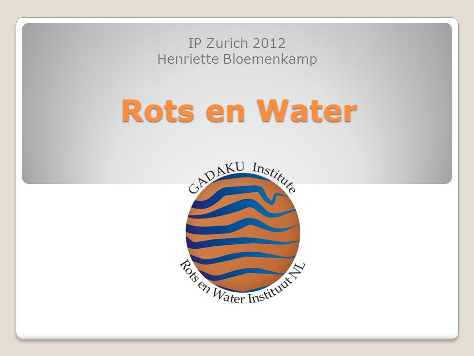 Rots en Water IP Zurich 2012 Henriette Bloemenkamp