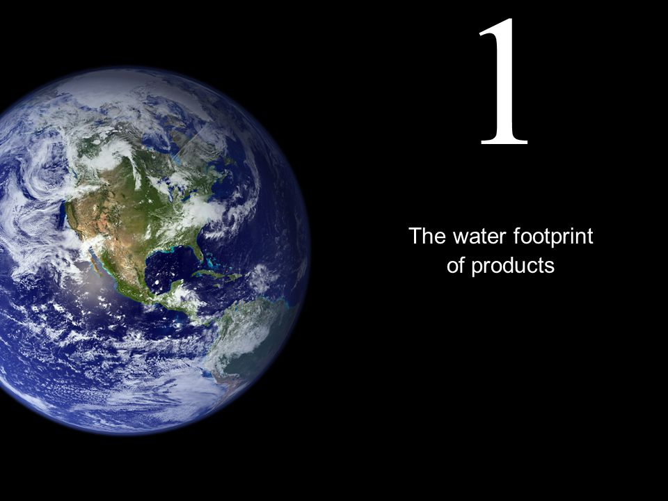 Water footprint of EUs cotton consumption (blue water)