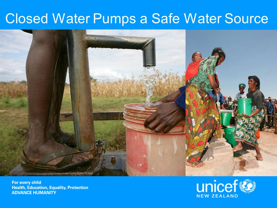 Closed Water Pumps a Safe Water Source
