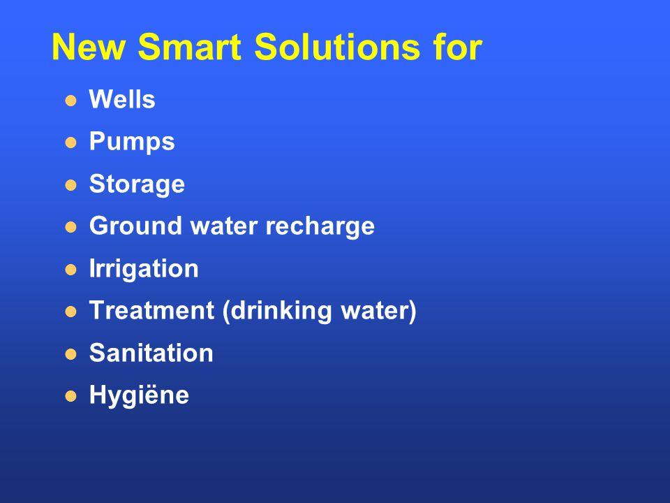 Information Smart series on Water Sanitation Water Harvesting Financing www.nwp.nl