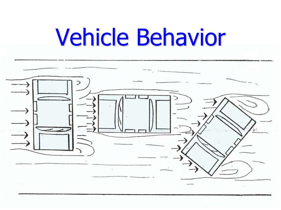 Vehicle Behavior