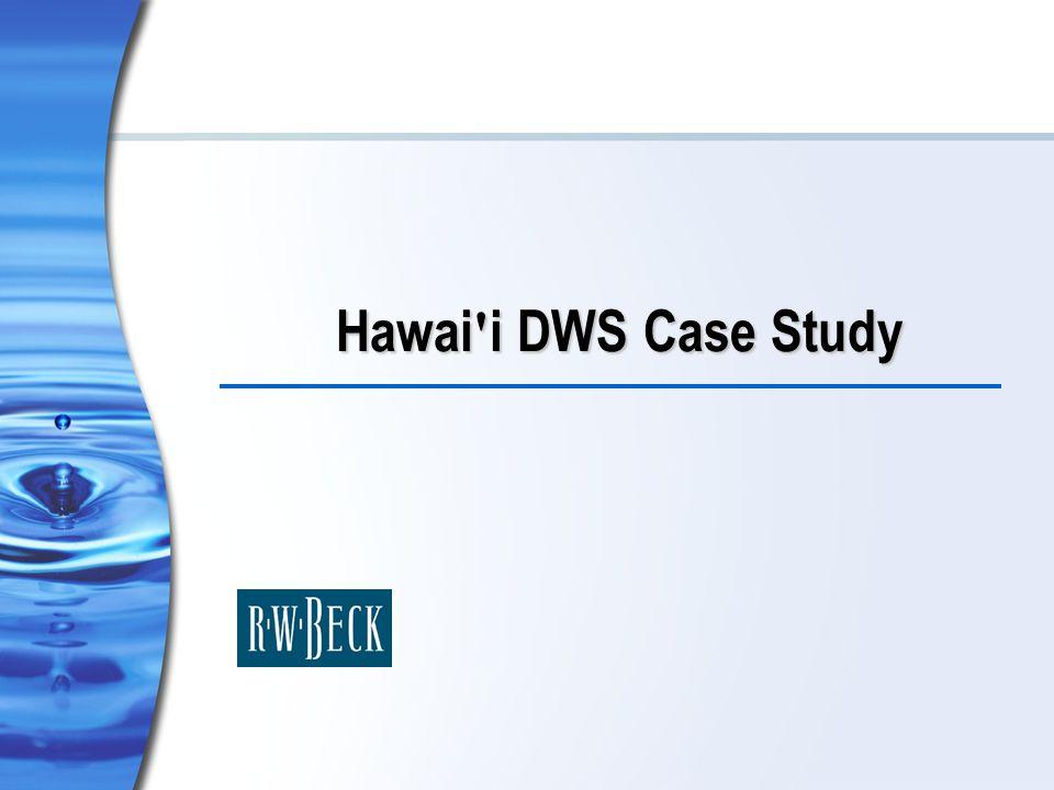 Hawai i DWS Case Study