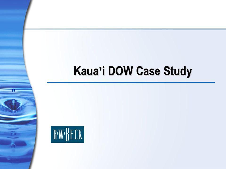 Kaua i DOW Case Study