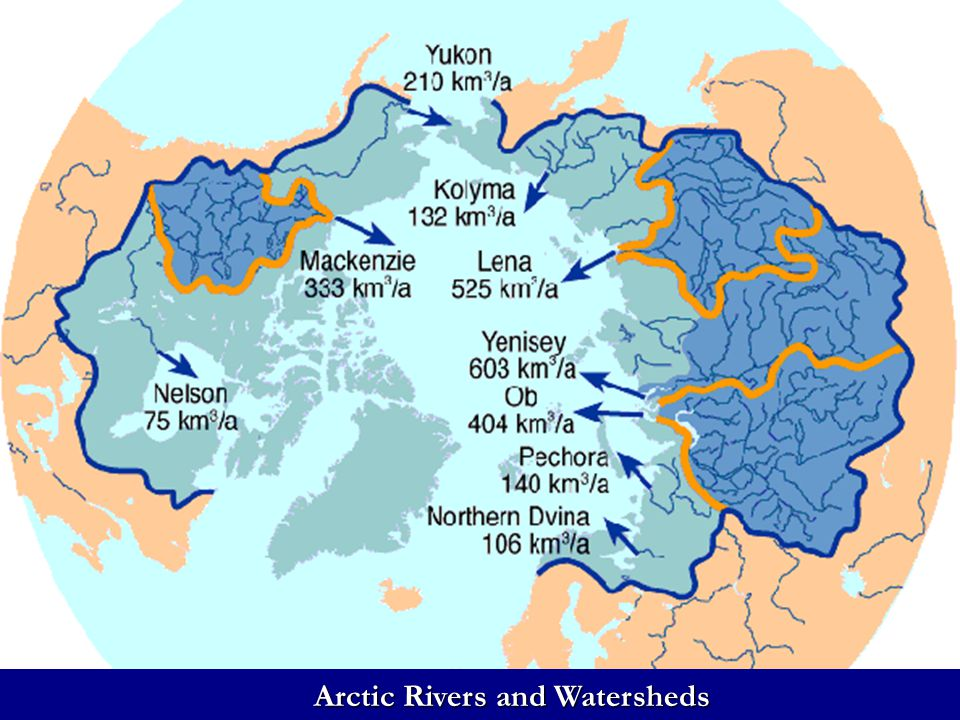 Arctic Ice Sheets Arctic Ice Sheets Arctic Rivers and Watersheds
