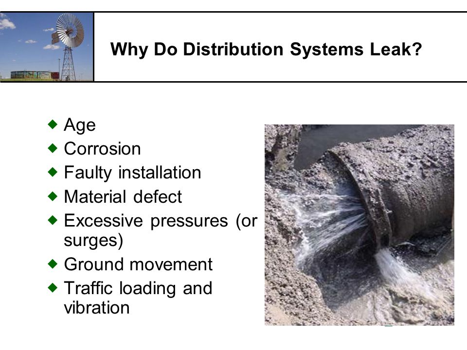 RCAC Why Do Distribution Systems Leak.