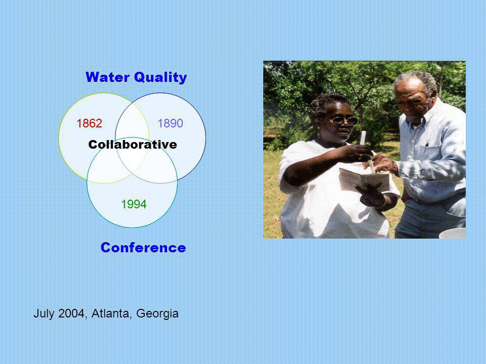 Collaborative 18901862 1994 Conference July 2004, Atlanta, Georgia Collaborative 18901862 1994 Conference