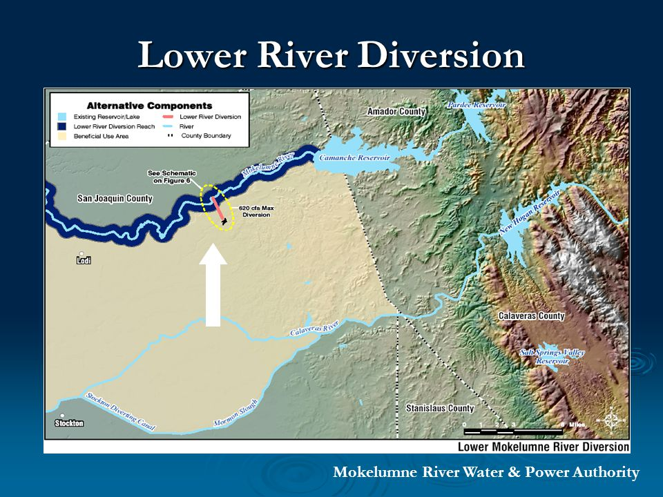 Lower River Diversion Mokelumne River Water & Power Authority