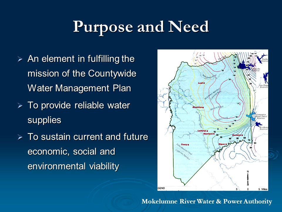 Project Schedule Mokelumne River Water & Power Authority