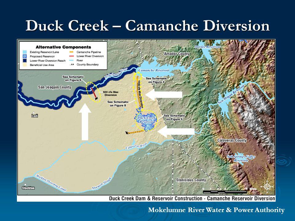 Duck Creek – Pardee Diversion Mokelumne River Water & Power Authority