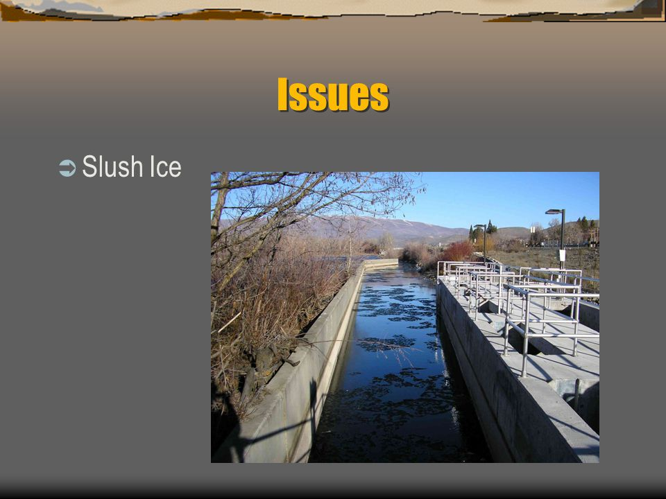 Issues Slush Ice