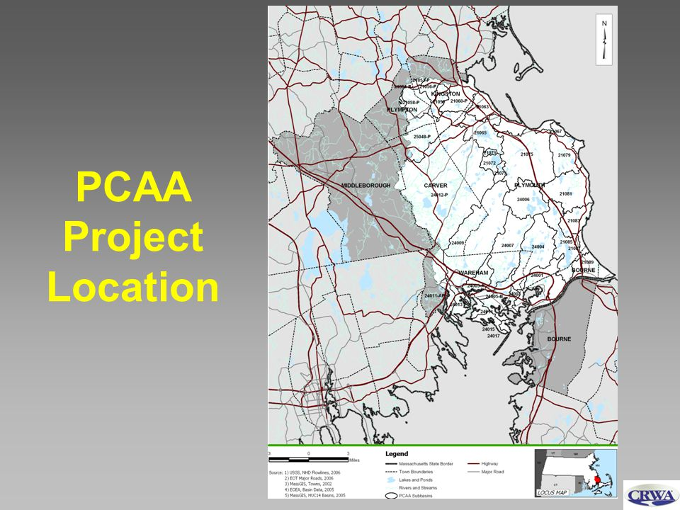 PCAA Project Location