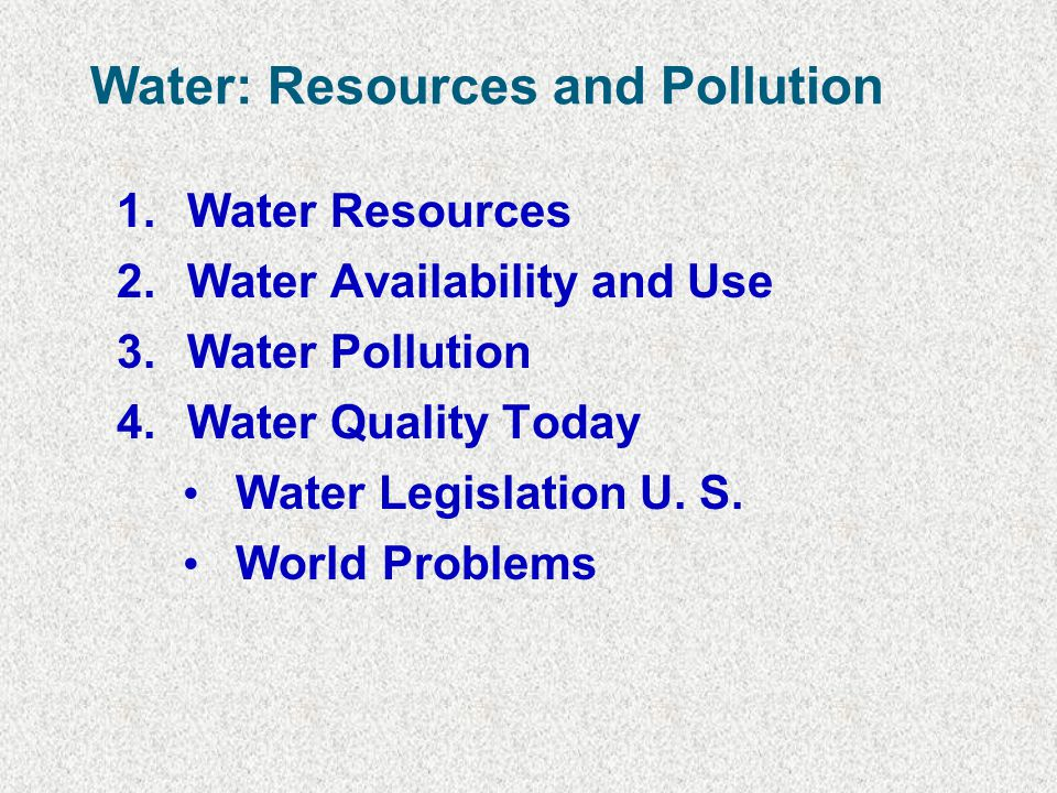 Remaining Problem Areas (Local & Global) Greatest problems are from non-point sources: include sediments, nutrients, and pathogens 3/4 of water pollution in the US comes from soil erosion, agricultural and urban runoff, and air pollution deposition - Feedlots produce 144 million tons of waste/year Atmospheric Deposition - Contaminants from air deposited into watersheds or directly onto surface waters - Great Lakes estimated to contain > 1 million pounds of the herbicide atrazine