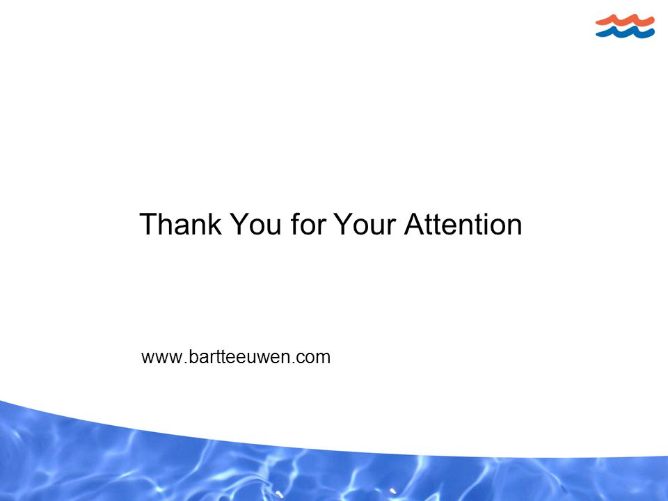 Thank You for Your Attention www.bartteeuwen.com