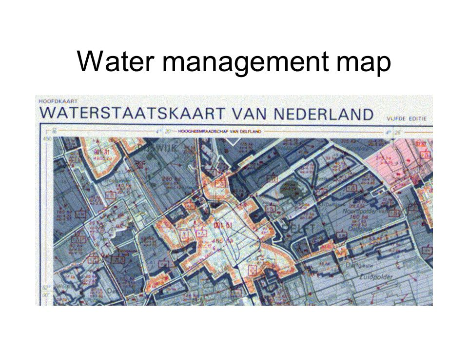 Water management map