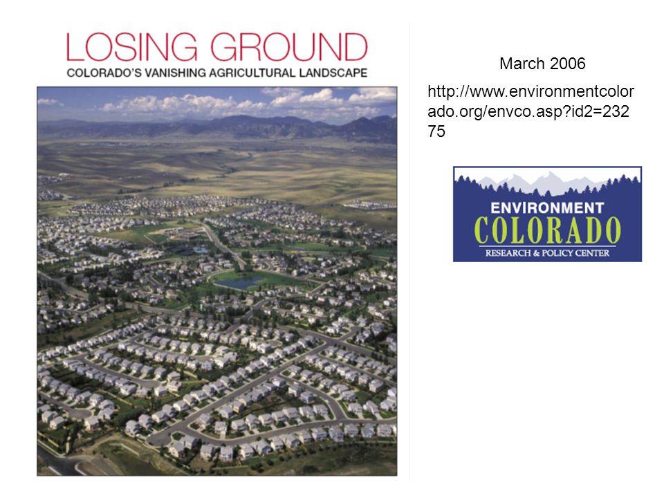 March 2006 http://www.environmentcolor ado.org/envco.asp id2=232 75