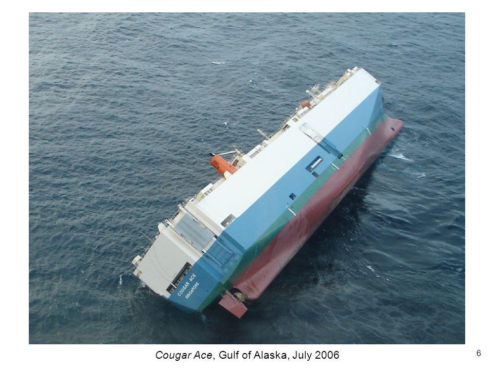 6 Cougar Ace, Gulf of Alaska, July 2006