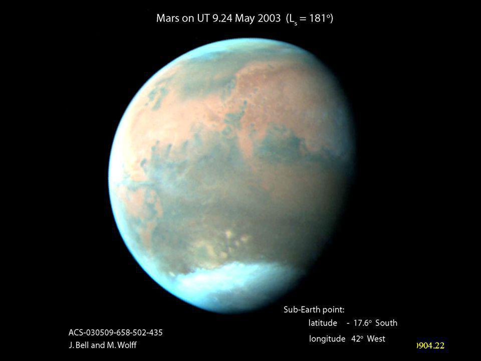 mjm_ Methane and Water on Mars