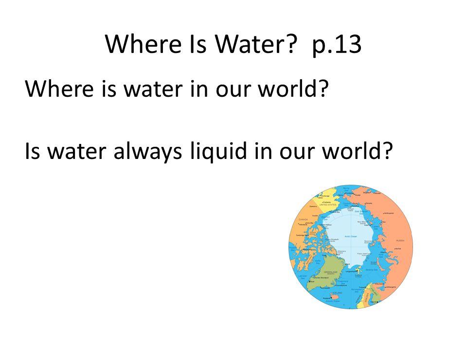 Water Chart p. 49