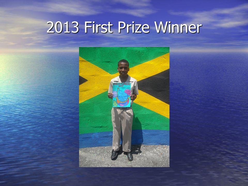2013 First Prize Winner