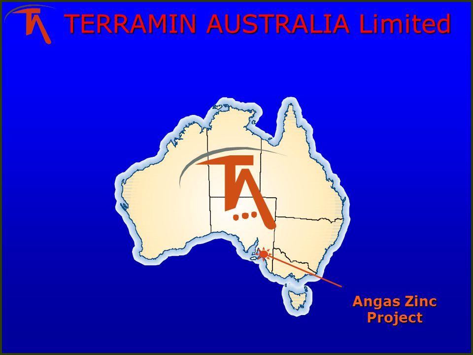 TERRAMIN AUSTRALIA Limited Angas Zinc Project