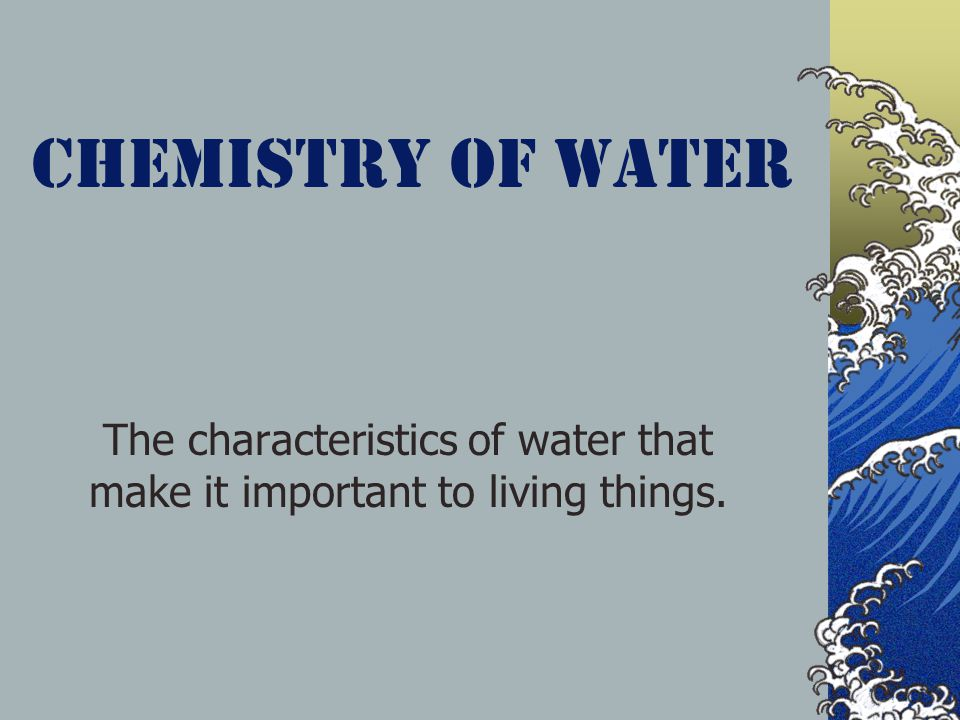 Effects on Human Body 70% of your body is made of water.