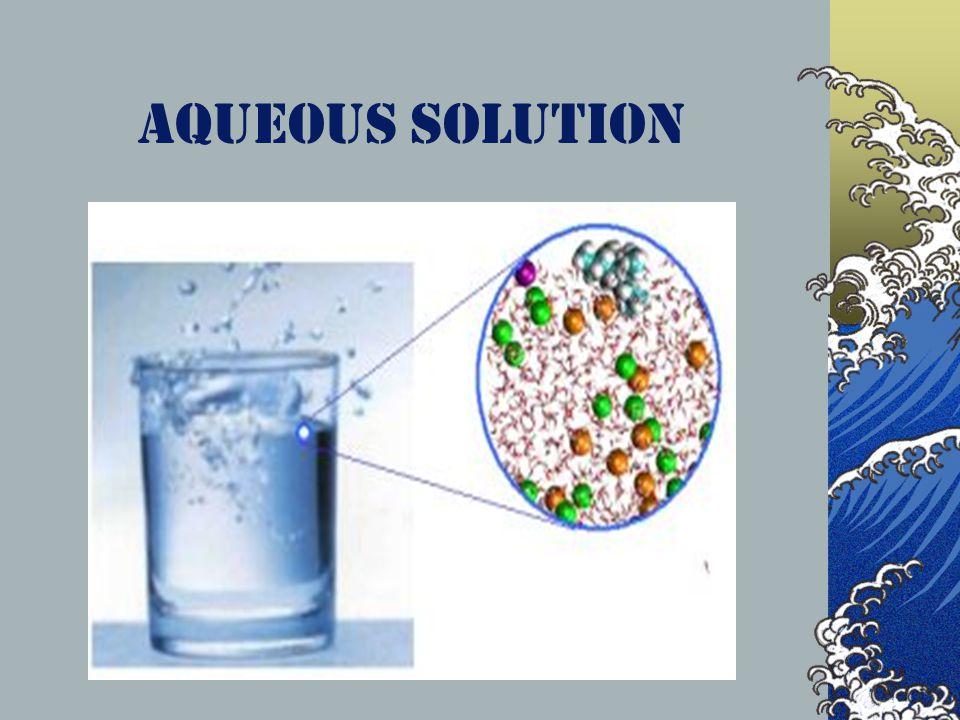Aqueous solution