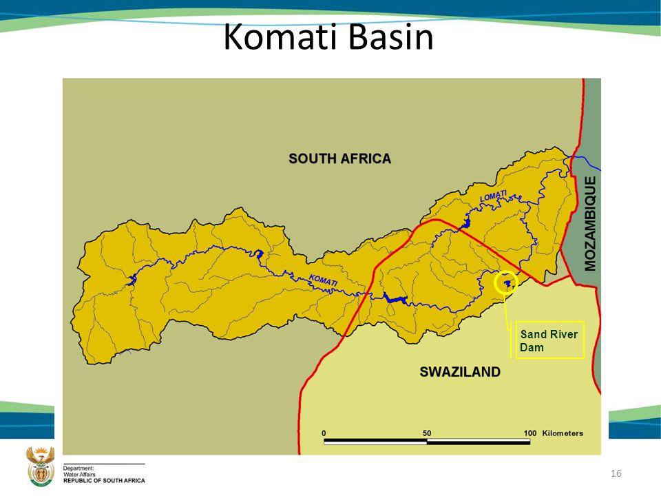 16 Komati Basin Sand River Dam
