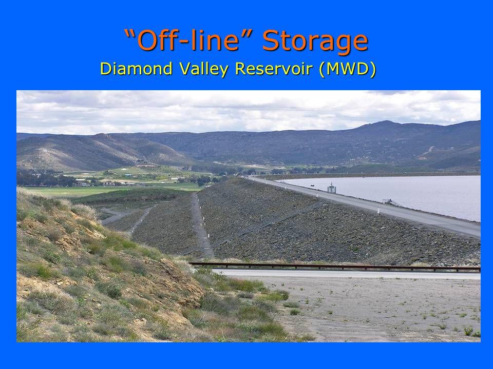Off-line Storage Diamond Valley Reservoir (MWD)