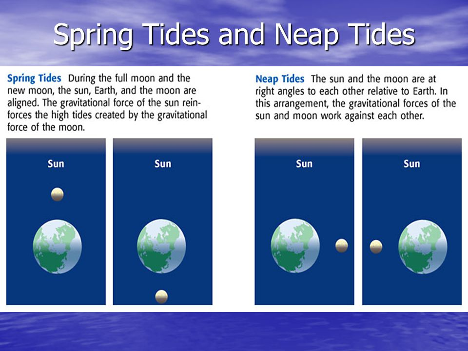Spring Tides and Neap Tides