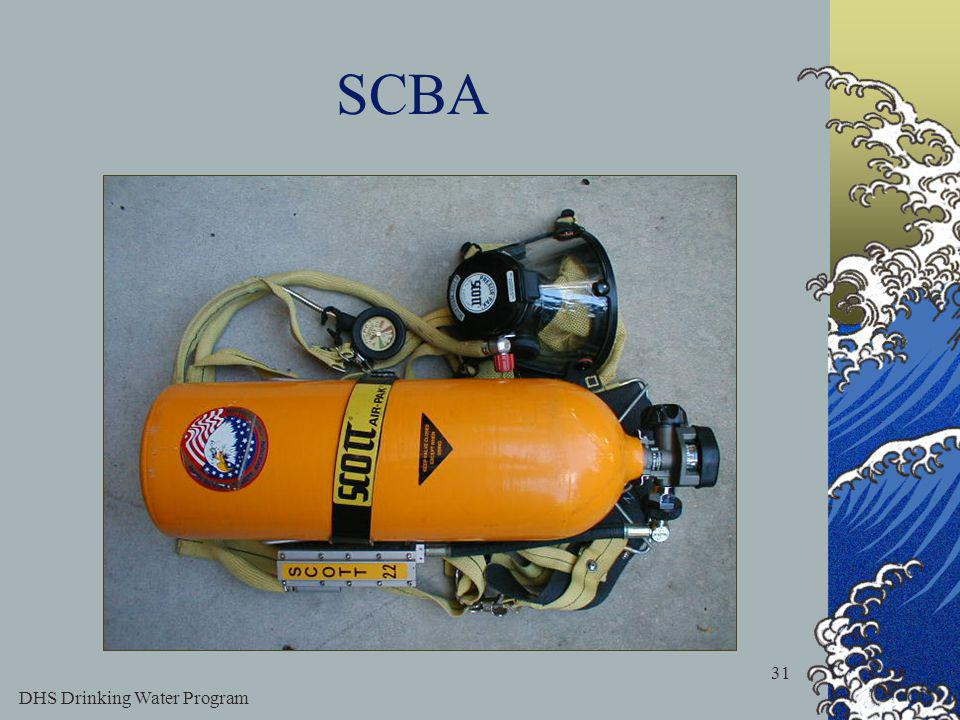 DHS Drinking Water Program 31 SCBA