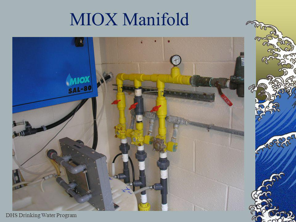 DHS Drinking Water Program 51 MIOX Manifold