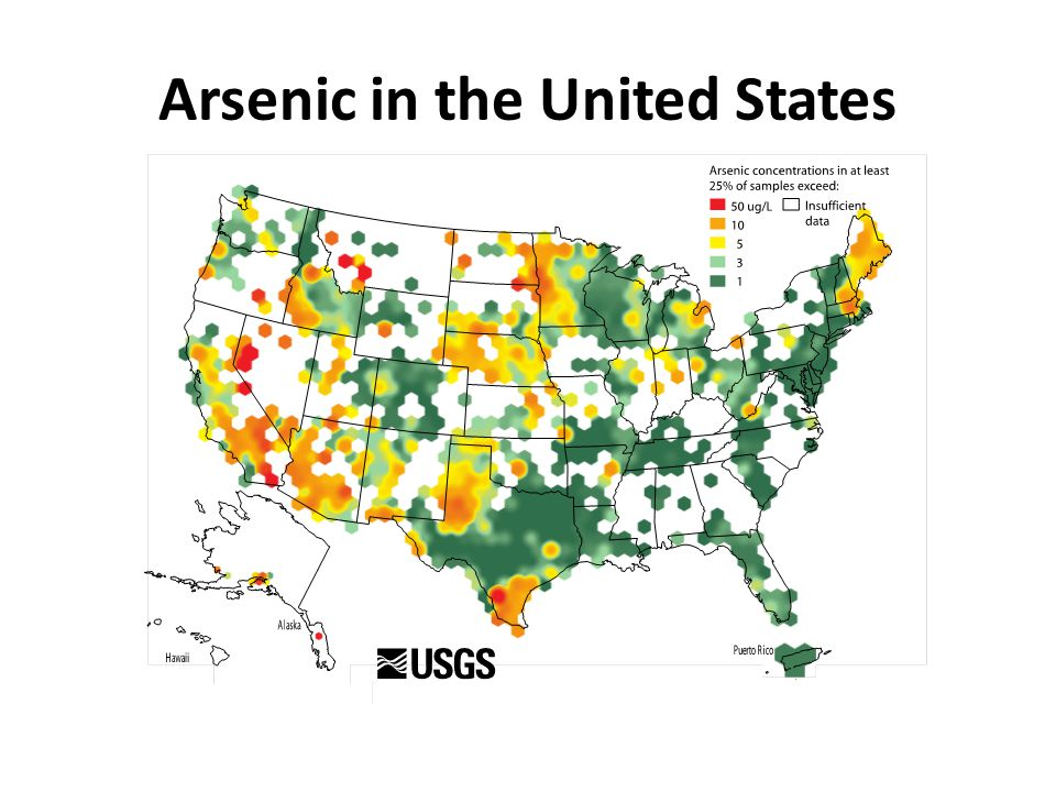 Arsenic in the United States