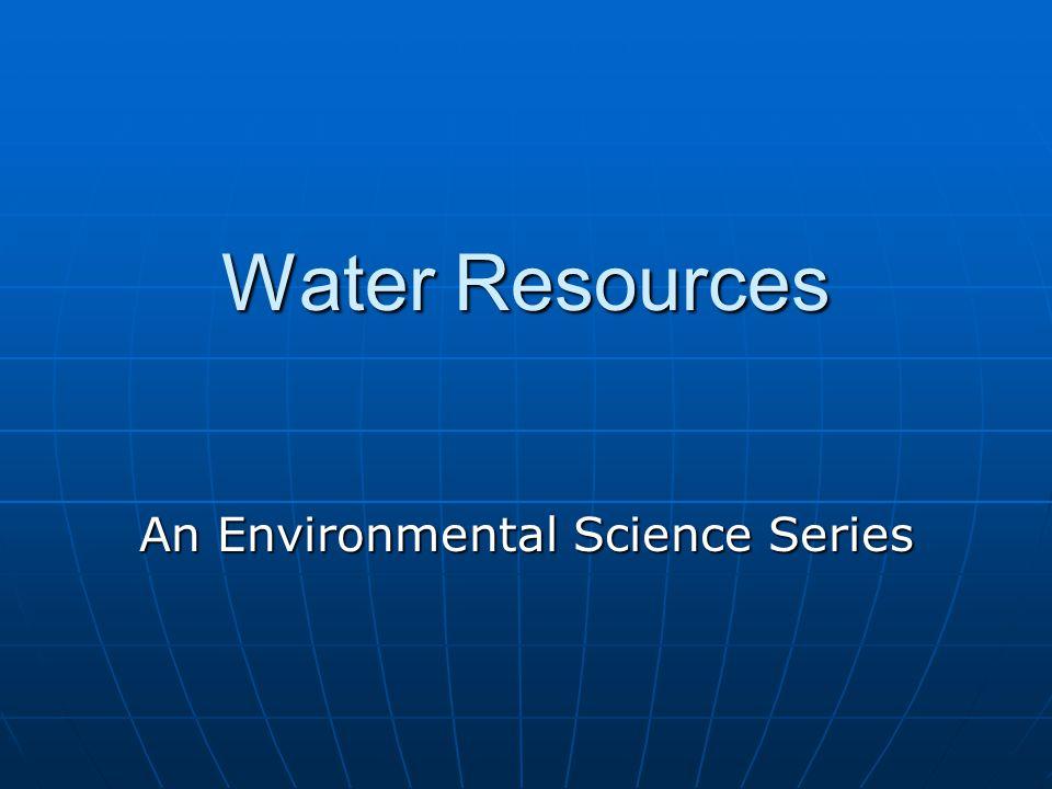 The Water Molecule Hydrogen Bonds