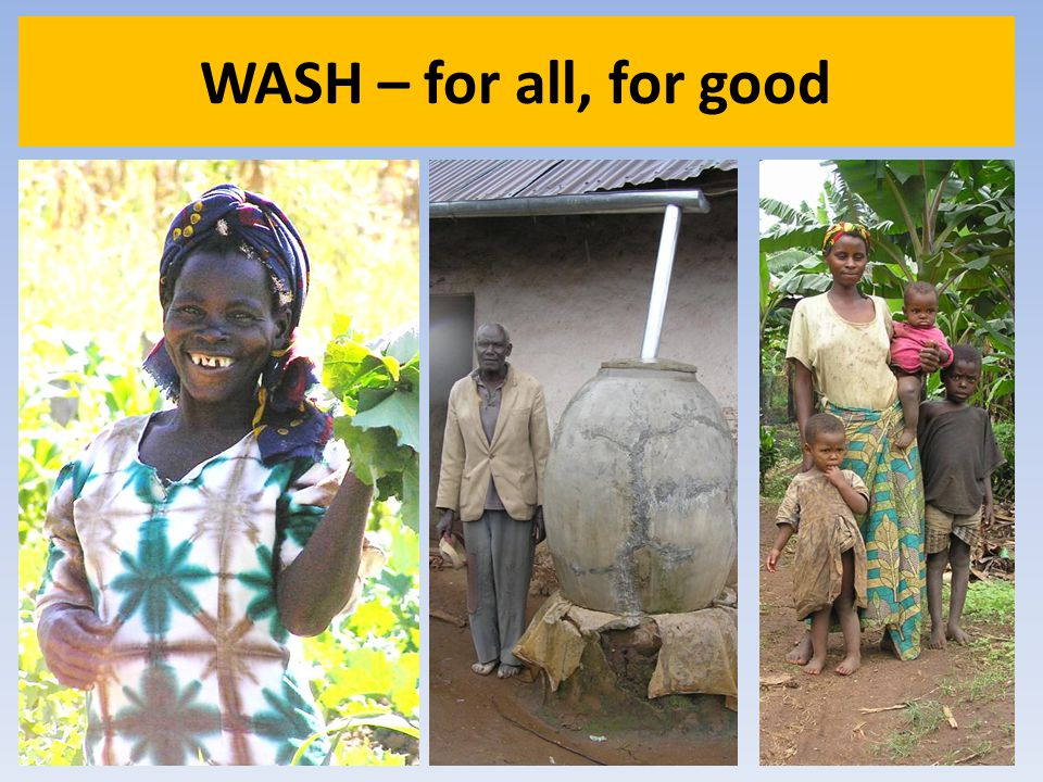 WASH – for all, for good