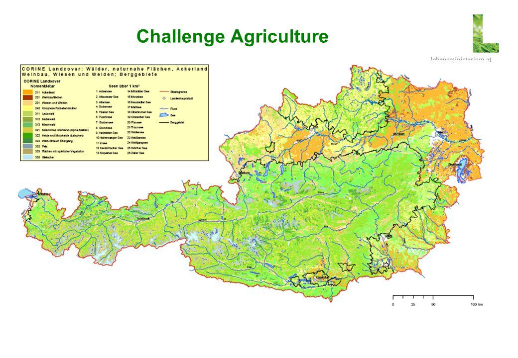 Challenges due to Precipitation Precipitation mm/a< 500- 600- 700- 850- 1000- 1250- 1500- 1750- 2000- 2500-3500