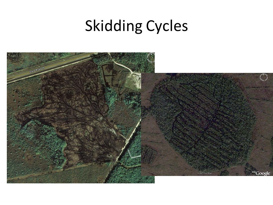 Skidding Cycles