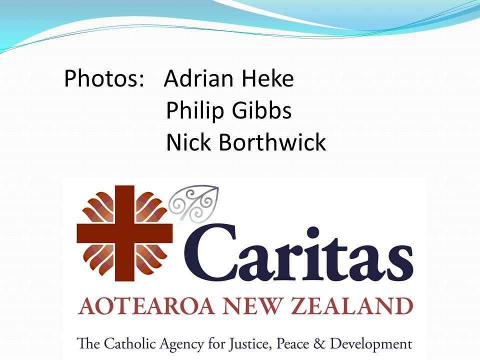 Photos: Adrian Heke Philip Gibbs Nick Borthwick