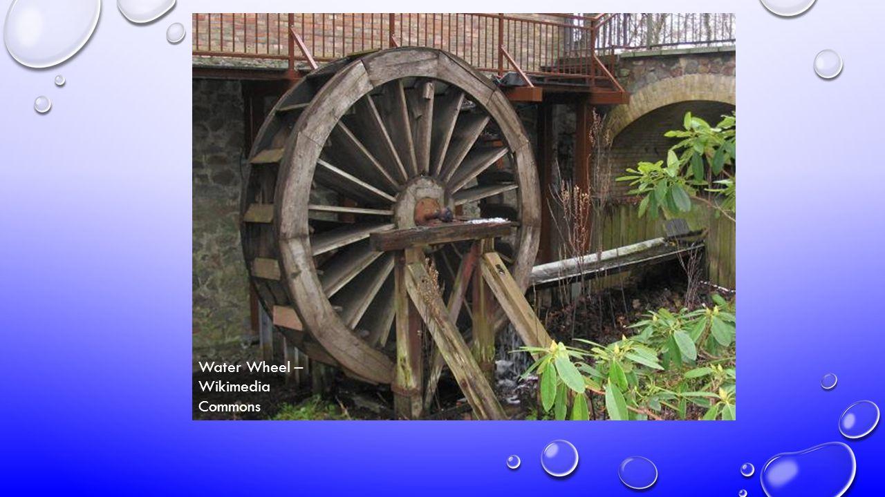 Water Wheel – Wikimedia Commons
