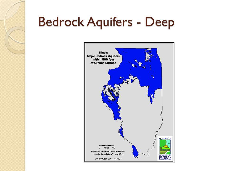 Bedrock Aquifers - Deep