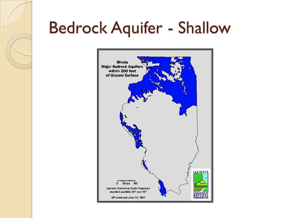 Bedrock Aquifer - Shallow