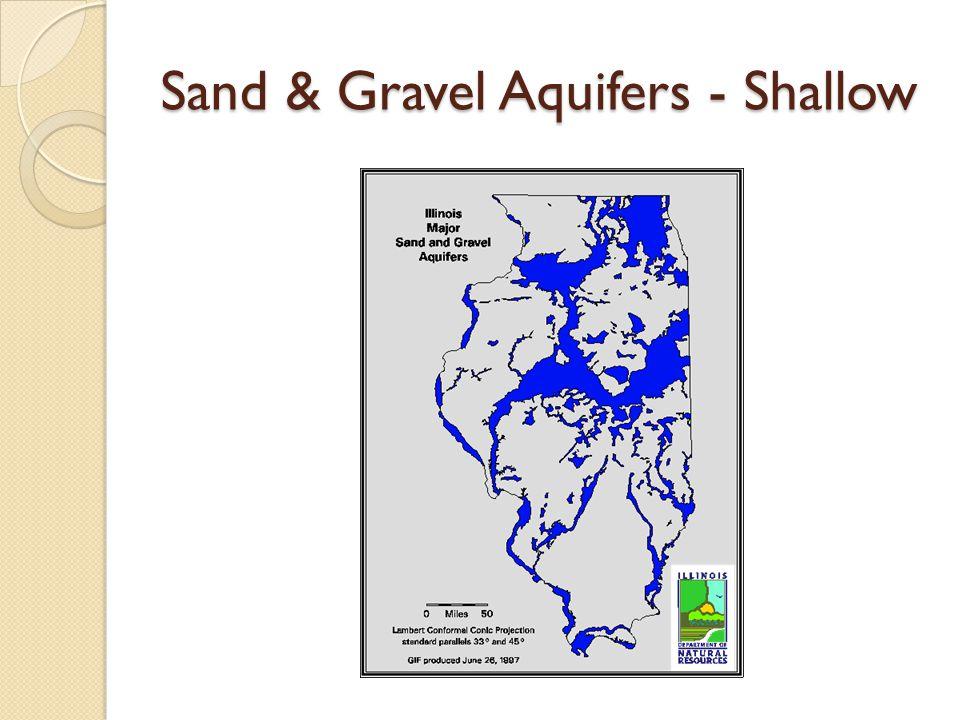Sand & Gravel Aquifers - Shallow