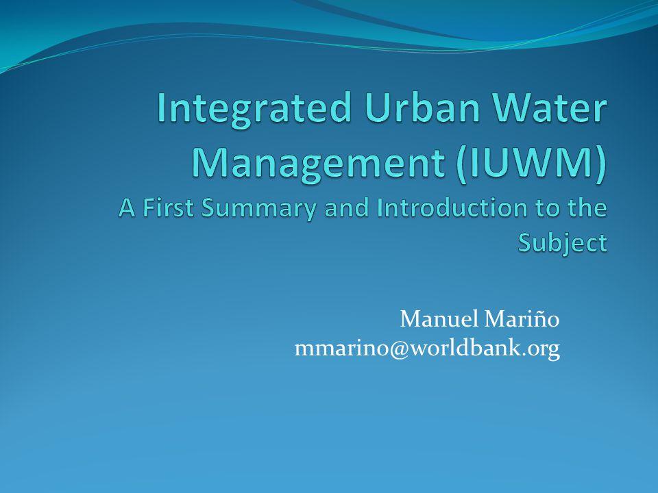Manuel Mariño mmarino@worldbank.org