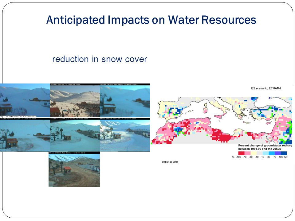 increase in severe storms and their frequency Anticipated Impacts on Water Resources