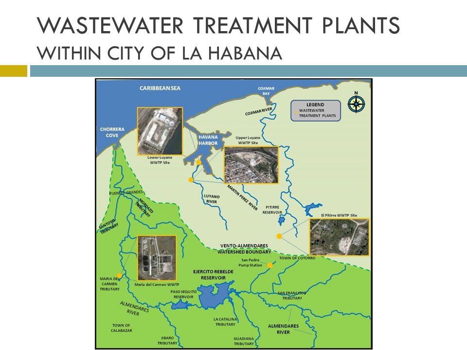 WASTEWATER TREATMENT PLANTS WITHIN CITY OF LA HABANA