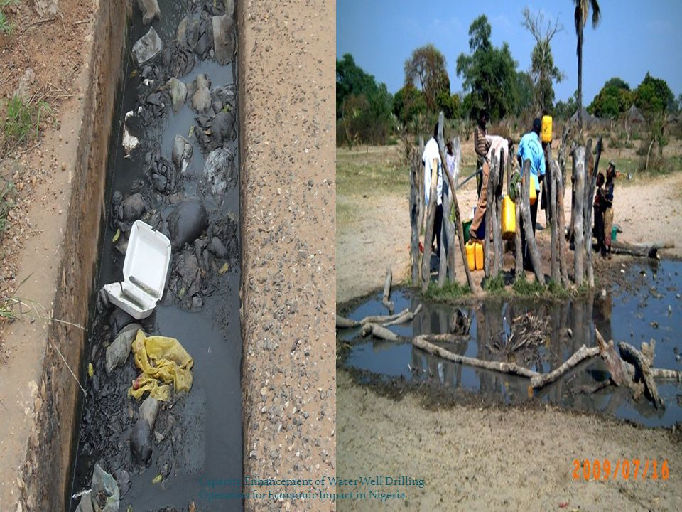 To improve rural water supply and sanitation in Nigeria… Training Research Library and Documentation Services Technical Services 7 Establishment of RWSSC NWRIs activities Capacity Enhancement of Water Well Drilling Operators for Economic Impact in Nigeria